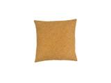 Turmeric Shibori Dot Square Pillow