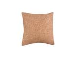 Rust Shibori Dot Square Pillow