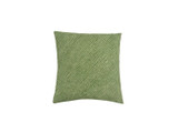 Spring Green Shibori Dot Square Pillow