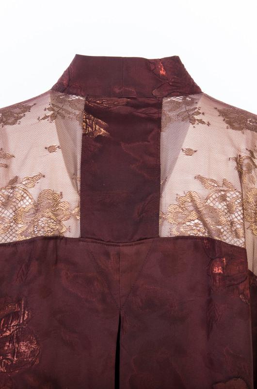 Autumn Flowers Satoko Coat