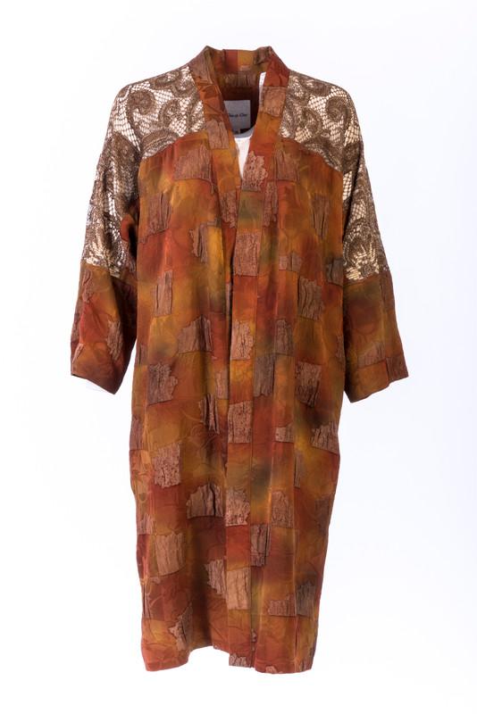 Hinoki Jacquard Satoko Coat
