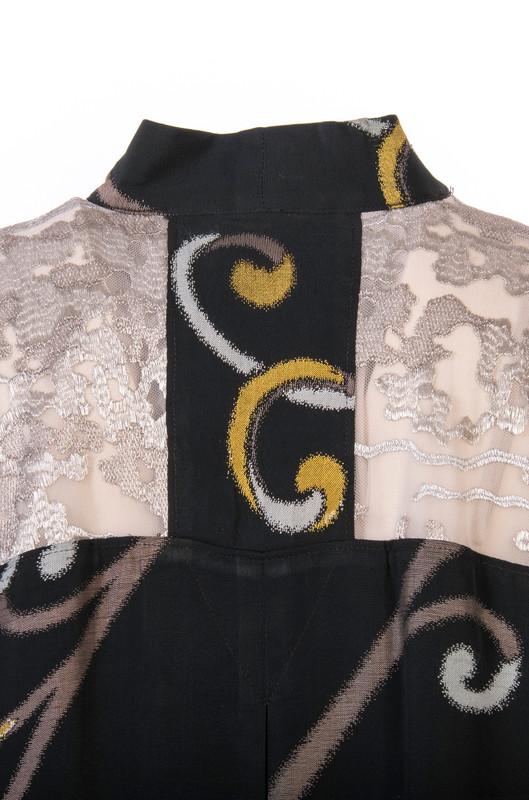 Curling Ribbons Ikat Satoko Coat