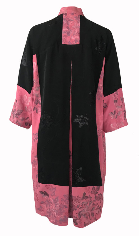 Color Blocked Lilies Satoko Coat