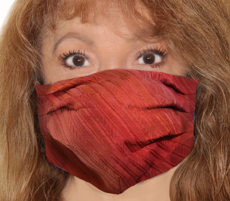Ribbon Stripe Incognito Face Mask