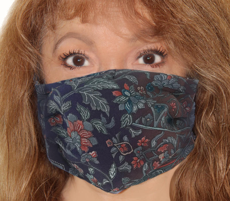 Patchwork Floral Incognito Face Mask
