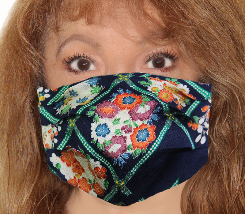 Flower Boxes Incognito Face Mask