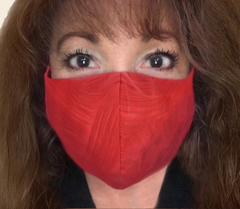 Crimson & Clover Kabuto Face Mask