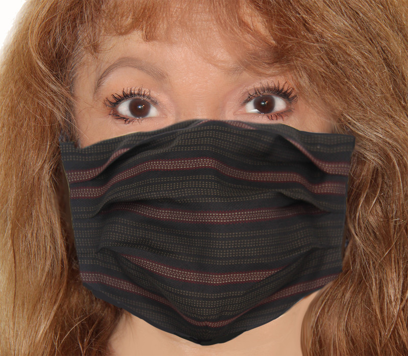 Samurai Stripe Incognito Face Mask