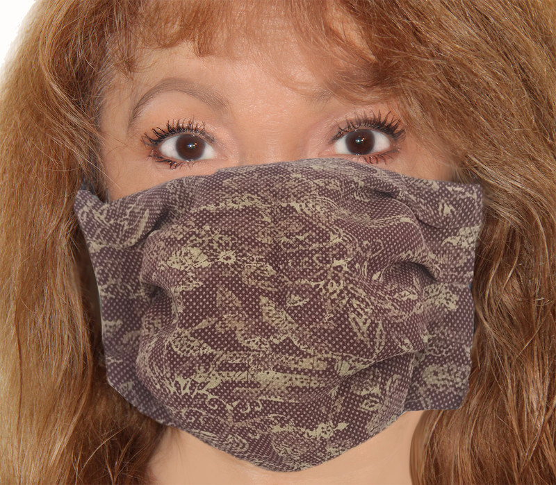 Shadow Dot Incognito Face Mask