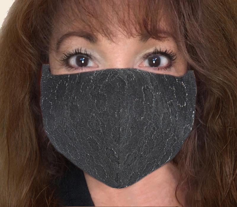 Silver Lining Kabuto Face Mask