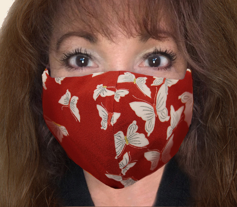 Butterfly Kabuto Face Mask