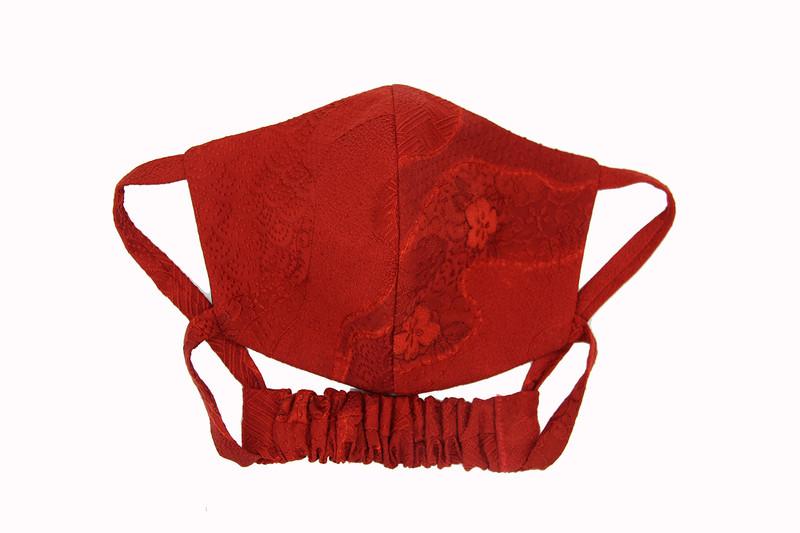 Suji Red Kabuto Face Mask