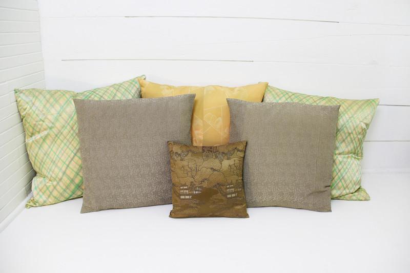 Golden Village Pillow