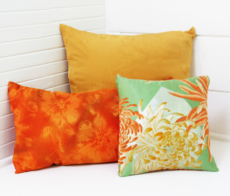 Autumn Lilies Pillow