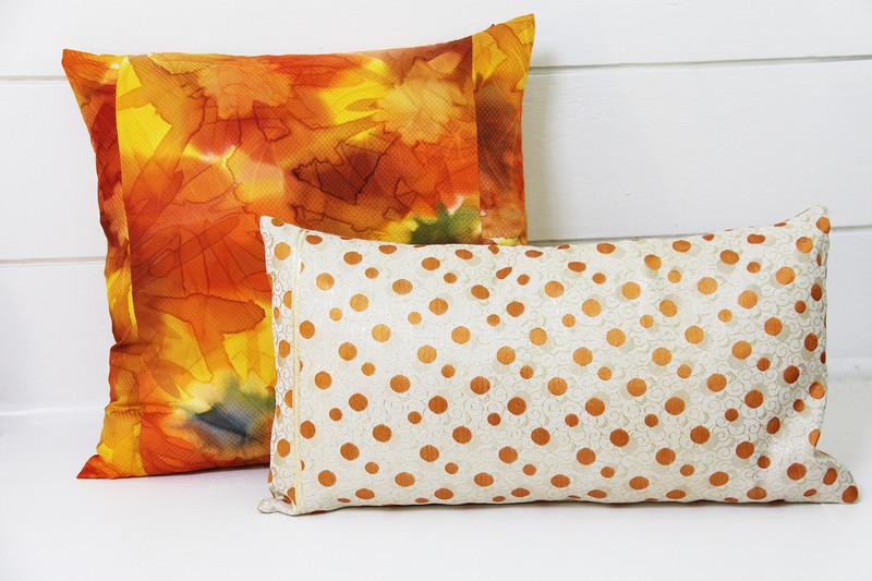Floral Starburst Pillow