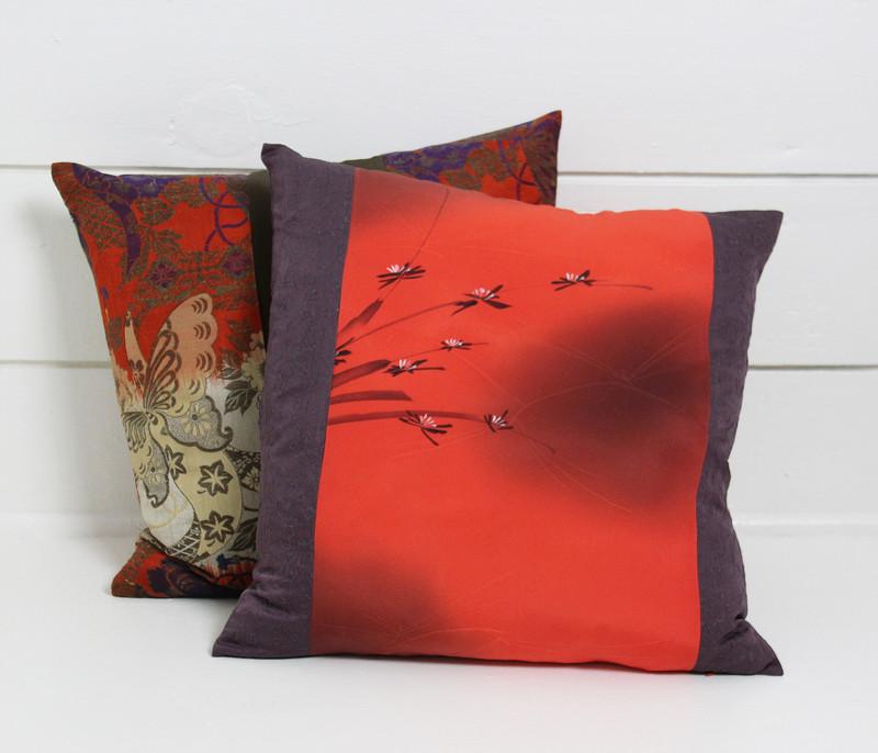 Coral Lotus Pillow