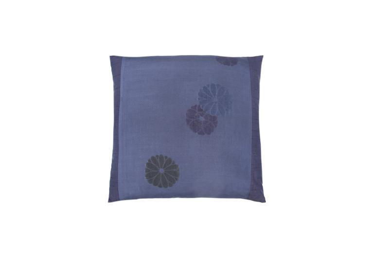 Indigo Sakura Pillow