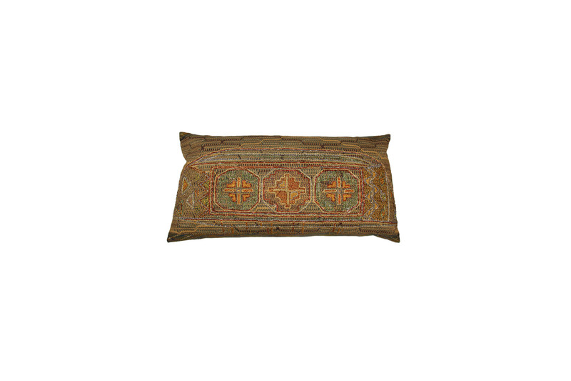 Crosses and Lace Pillow