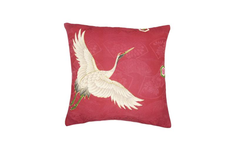 Japanese Crane Pillow-A
