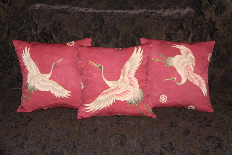 Japanese Crane Pillow-C