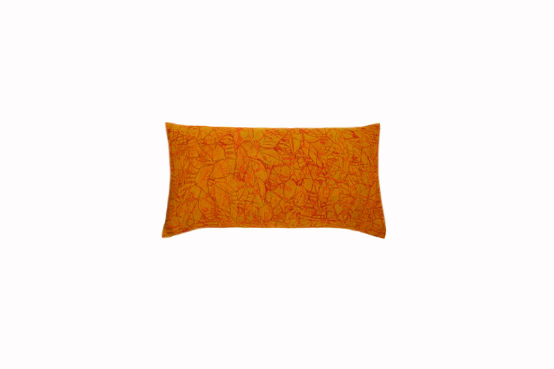 Painted Leaves Pillow