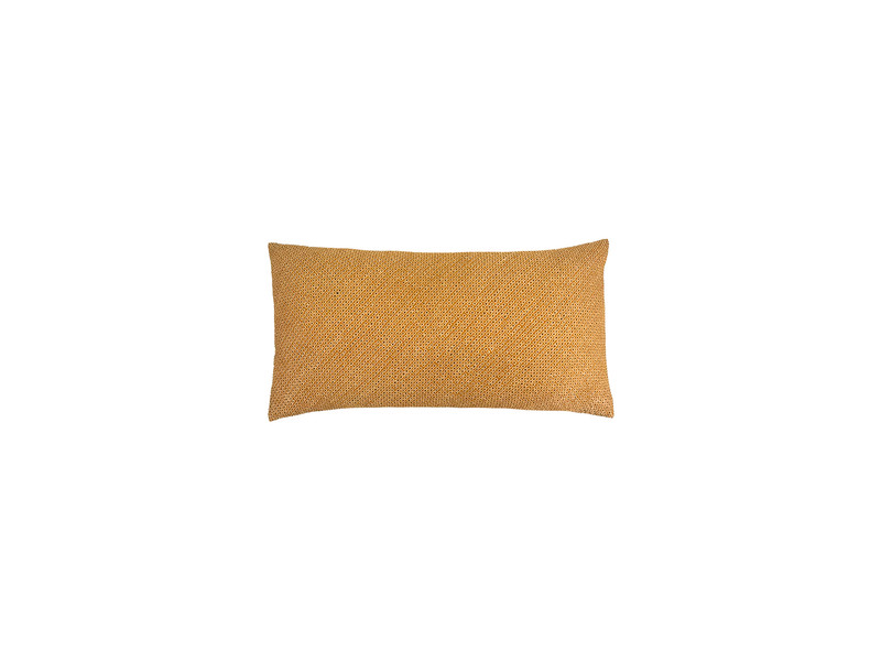 Turmeric Shibori Dot  Pillow