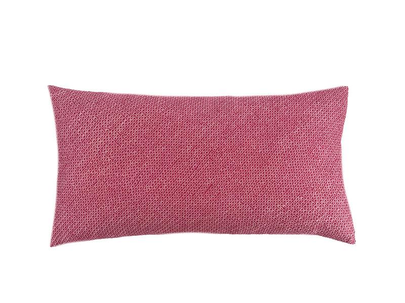 Rose Shibori Dot  Pillow