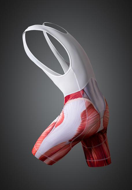 Muscle Cycling Bib short - side view