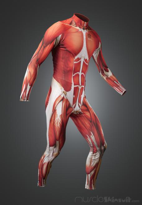 Muscle Skin Suit long