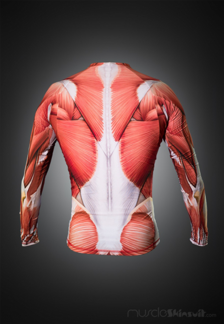 Muscle Rashguard Longsleeve - back view