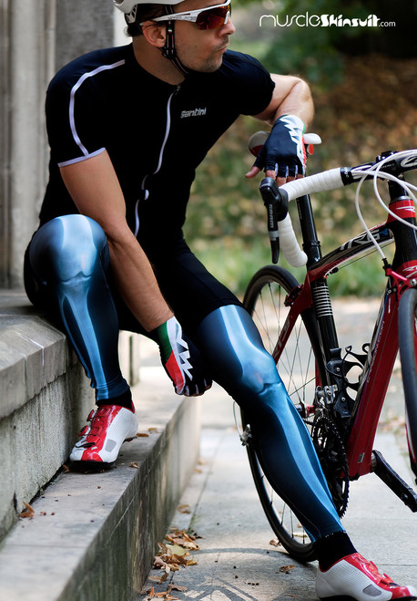 x ray legwarmers and cyclist