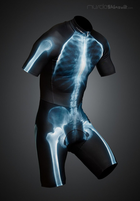 X-ray skinsuit short with cycling pad
