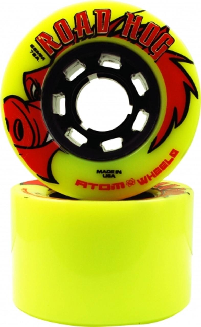 Atom Road Hog Outdoor Roller Skate Wheels 66mm - 4 pack