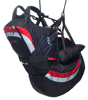 SOL Tandem Split Pilot 3 Airbag Harness