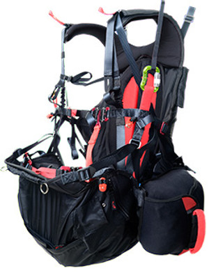 SOL Comfort Low Point Paramotor Harness