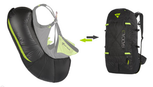 Sup'Air Radical 3 Reversible Backpack Airbag
