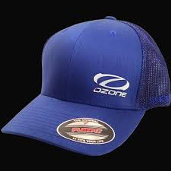 Ozone Flex Fit Ball Cap/Hat Black or Blue