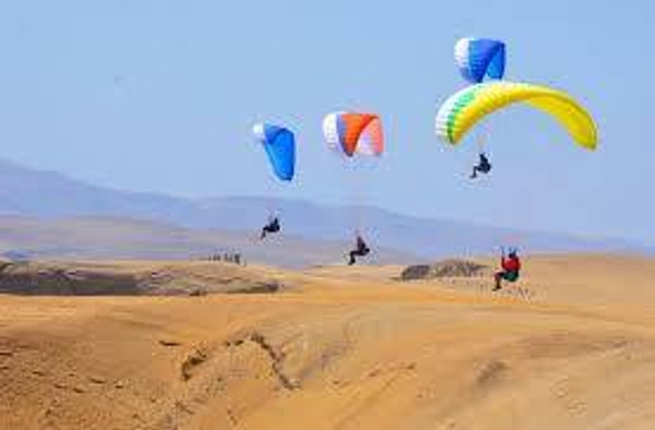 Introductory Paragliding Lesson