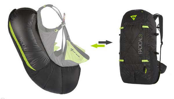 Sup'Air Radical 3 Airbag Attachment