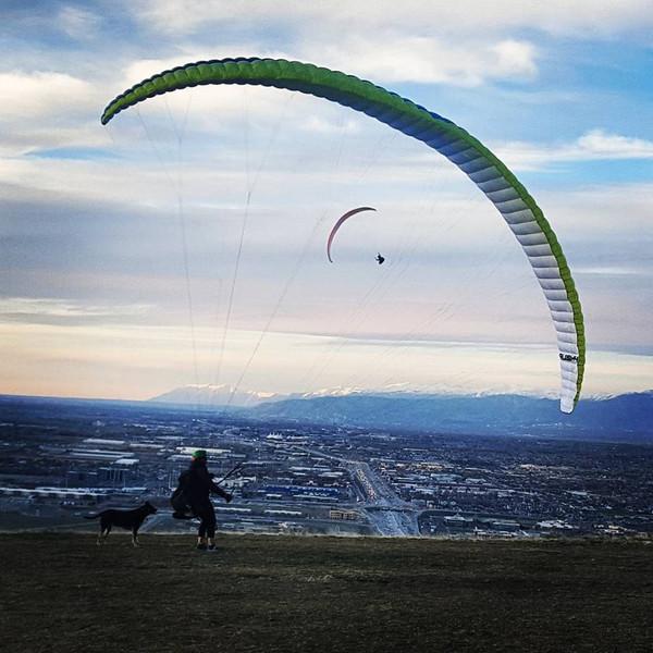 P2+ Paragliding Lesson - Single Session