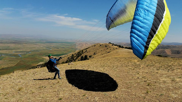 P2+ Paragliding Lesson - 3 Sessions