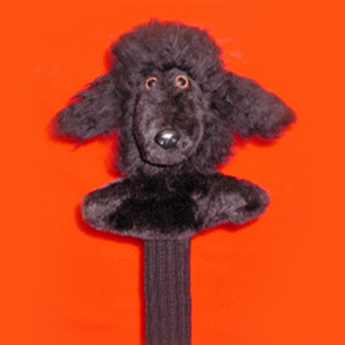 Poodle (Black) Head Cover