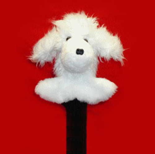 Poodle (White) Head Cover