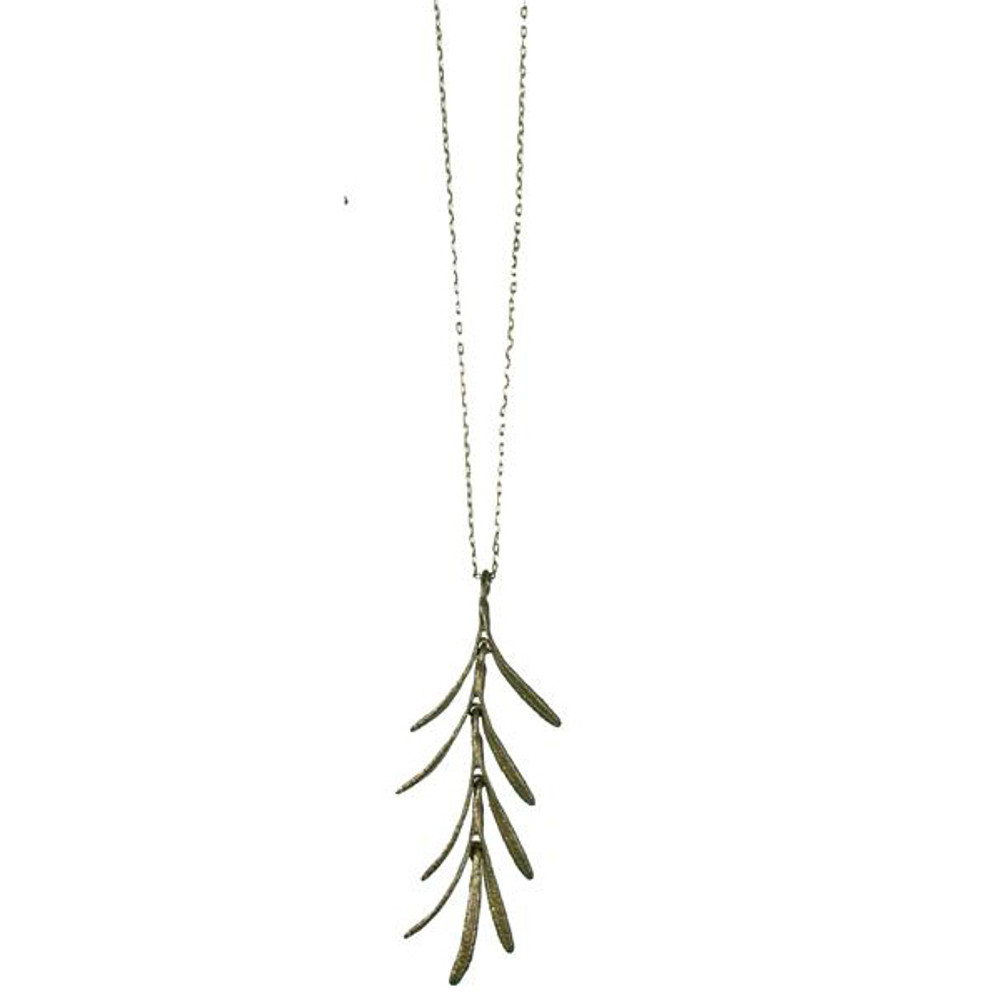 Rosemary Dangle Pendant Necklace