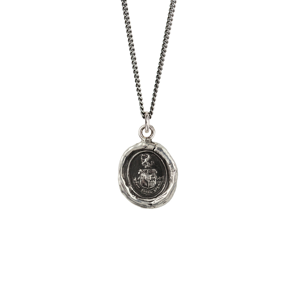"""""""Courage to Hope""""- Sterling Silver 18"""" Necklace"""