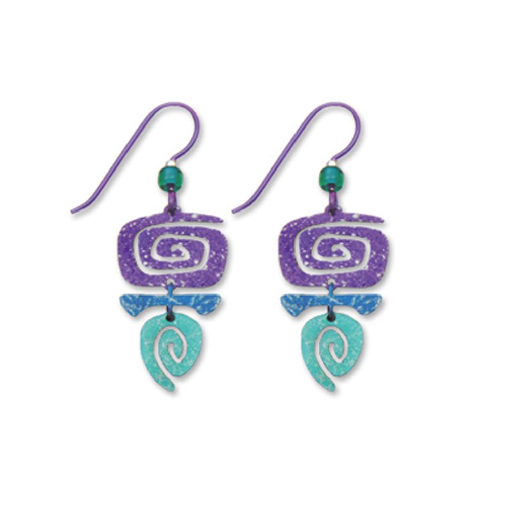 c8ca58906 Rectangular Spiral Earrings Rectangular Spiral Earrings