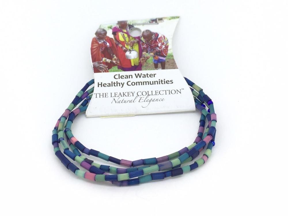 Zulugrass Clean Water Healthy Communities Single Strand Necklace/Bracelet