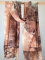 Emanuel Leaf Print Wool Scarf