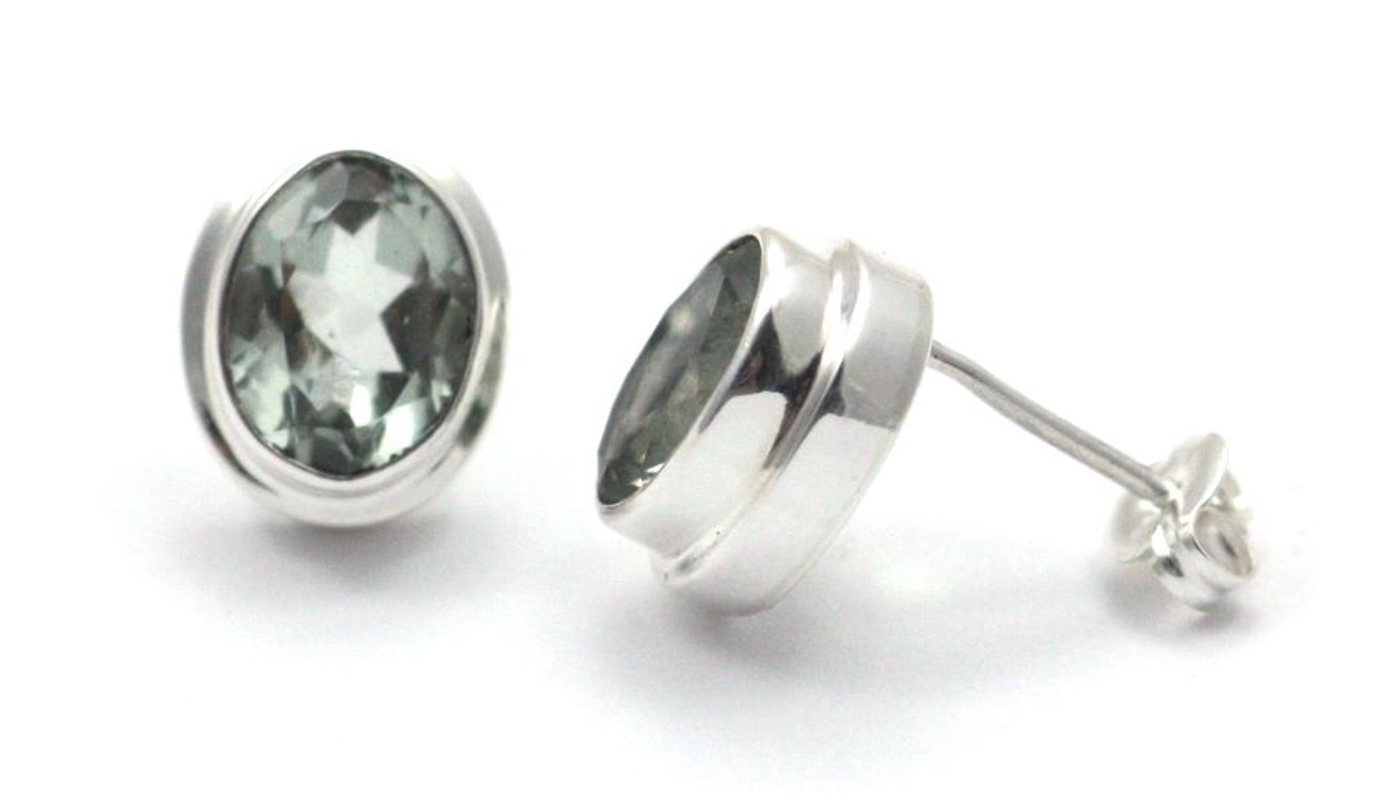 c5ccc68c0 Padma Green Amethyst Post Earrings - Mima's Of Warwick, LLC