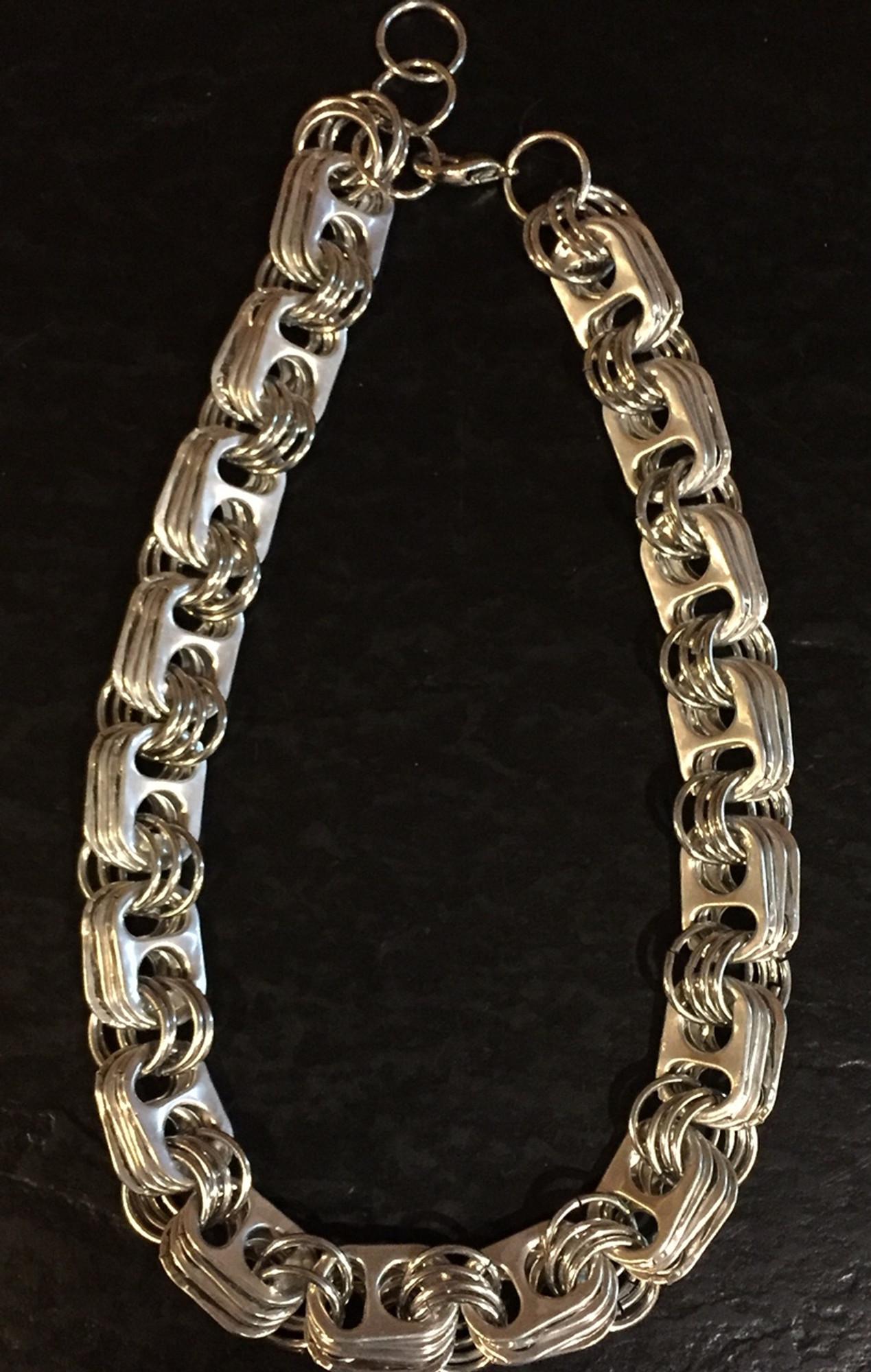 Soda tab necklace